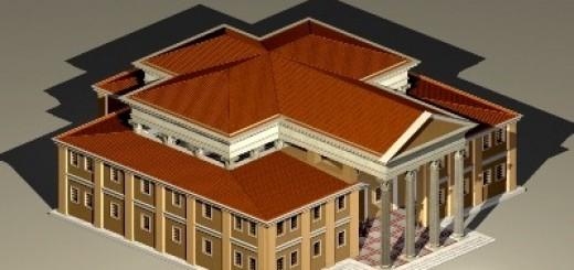Basilica di Fano plastico 2014