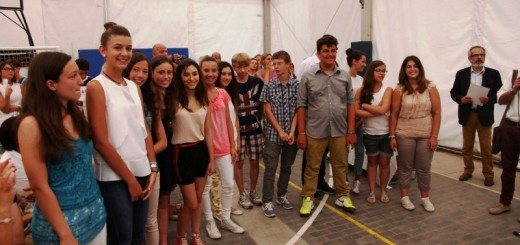 Studenti Istituto Nuti di Fano con maggior numero di 10 e lode