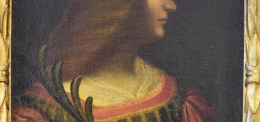 >>>ANSA/RITROVATA ISABELLA D'ESTE DI LEONARDO IN UN CAVEAU