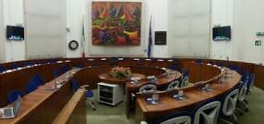 sala del consiglio comune di Fano
