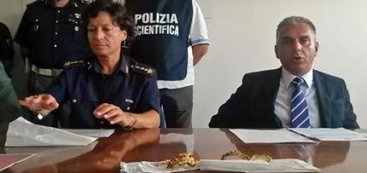 Furti: la Questura di Ancona recupera corone in oro rubate in una chiesa