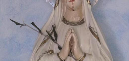 madonnina sangue piange