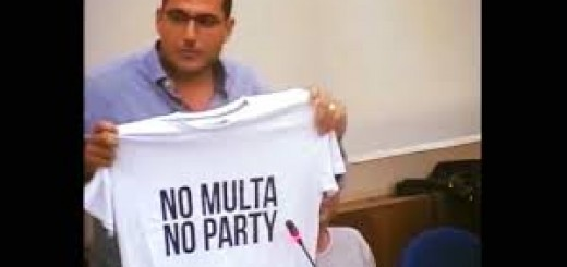 santorelli no multa no party