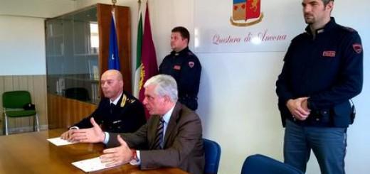 Il questore di Ancona Oreste Capocasa