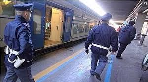 polizia sul treno2015