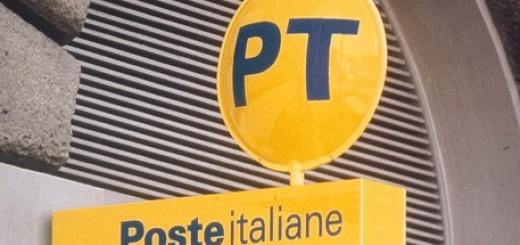 Ufficio postale, insegna. Poste italiane