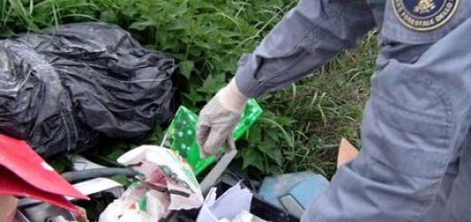 Ambiente: il Corpo Forestale dello Stato individua abbandono di rifiuti a Fano