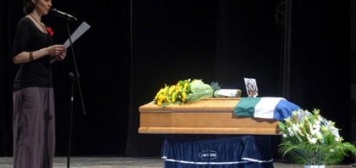 I funerali di Max Fanelli a Senigallia