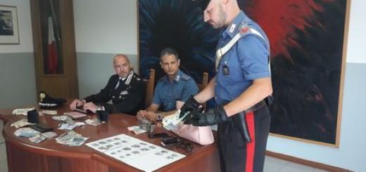 Cc Pesaro arrestano coppia borseggiatori bulgari