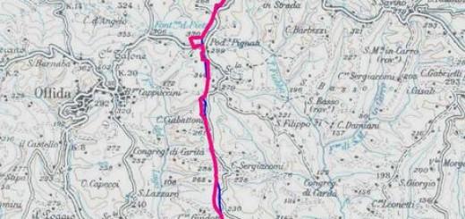 Metanodotto, percorso Offida-Castorano