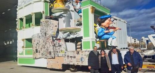 Carnevale Fano: carro Rossiniano