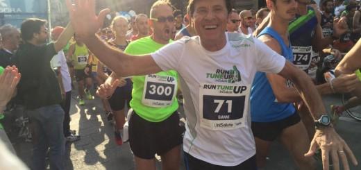Morandi durante una mezza maratona