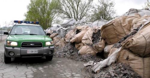 Ambiente: 'Raehell', indagine dei Carabinieri Forestali su traffici di rifiuti pericolosi.+++