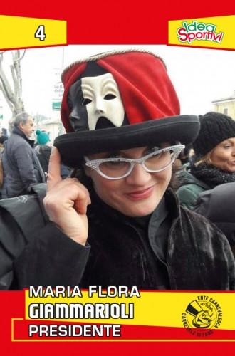 figurina Maria Flora Giammarioli Presidente