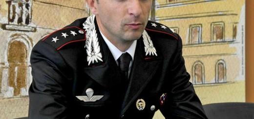 Carabinieri: il capitano Maximiliano Papale della Compagnia di Fano