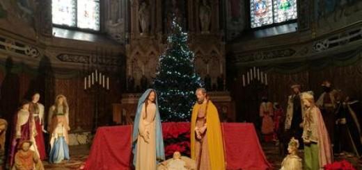 Natale: presepe nella Basilica di Loreto